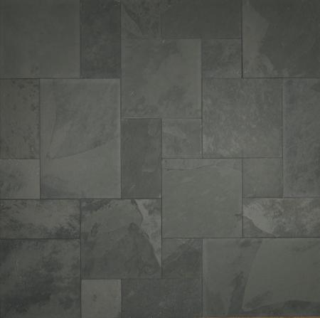 Pewter Grey Slate Versailles Pattern