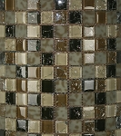 Glass Mosaic | Pacific Dunes Blend Crackled