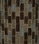 Glass Mosaic | Fossil Canyon Blend Brick | 1X2