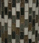 Glass Mosaic | Sandy Beach Blend Crackled