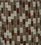 Glass Mosaic | Sedona Blend Mini Brick