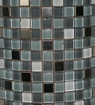 Glass & Metal Mosaic | Diamond Cove