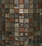 Glass & Metal Mosaic | Manhattan Blend