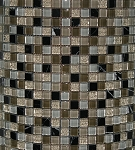 Glass & Stone Mosaic | Orion Blend Mini