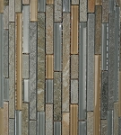 Glass & Stone Mosaic | Golden Fields Bamboo