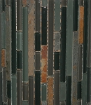 Glass & Stone Mosaic | California Gold Bamboo