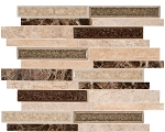 Stonegate Interlocking Backsplash