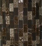 Glass & Stone Mosaic | Sonoma Blend Brick