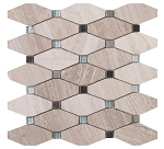 Bayview Elongated Octagon Mosaic