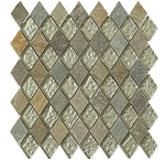 Silver Leaf Autumn Slate Diamond