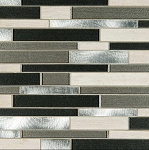 Urban Loft Interlocking Pattern Mosaic