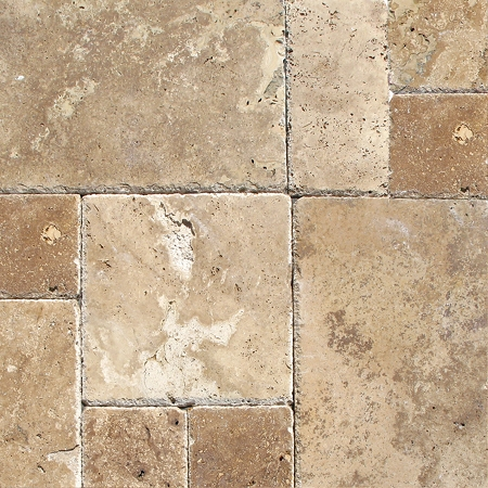 Tuscany Chateaux Travertine | Versailles Pattern