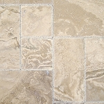 Tuscany Walnut Onyx Travertine | Versailles Pattern