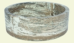 Travertine Onyx Round Straight 18