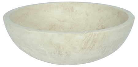 Travertine Round Ivoria 18