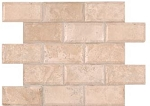 Tuscany Ivory 2x4 Honed Backsplash