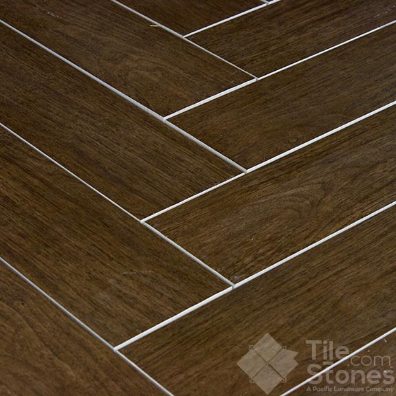Prestige Walnut Matte 6x24 Wood Plank Porcelain