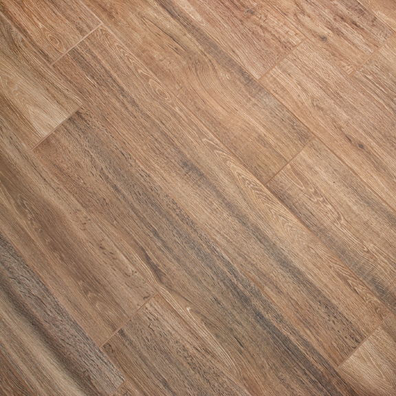 Industrial Flooring That Looks Like Wood: Caramello Wood-Look Porcelain Tile