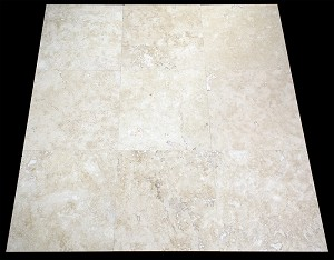 Bianca Roma Travertine | 18x18 | Filled and Honed