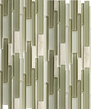 Glass Mosaic | Bamboo Gray