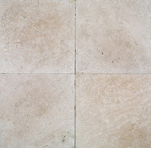Cafe Light Travertine | 12x12 | Tumbled
