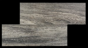 Coal Wood Plank Porcelain | 6.5 x 20