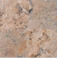 Golden Rustic Travertine | 24x24 | Filled | Honed