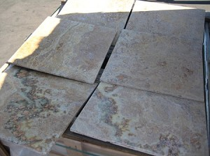 Golden Sienna Multi Travertine | 18x18 (WAREHOUSE CLEARANCE SALE)