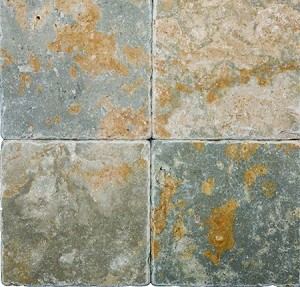 Golden Green Travertine | 6x6 | Tumbled | Out of Stock