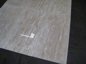 Ivoria Travertine | Vein Cut | Filled | 12x24 | Polished