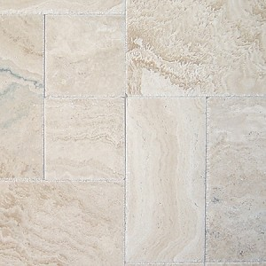 Tuscany Ivory Onyx Travertine | Versailles Pattern